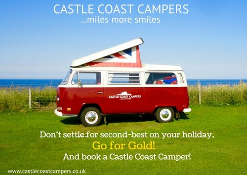 1973 Castle Coast Campers   Classic VW Campervan For Hire (picture 1 of 6)