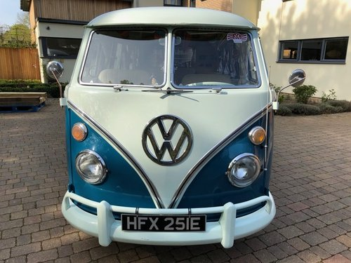 VW Deluxe Split Screen LHD 1967 - Great Condition SOLD (picture 1 of 6)