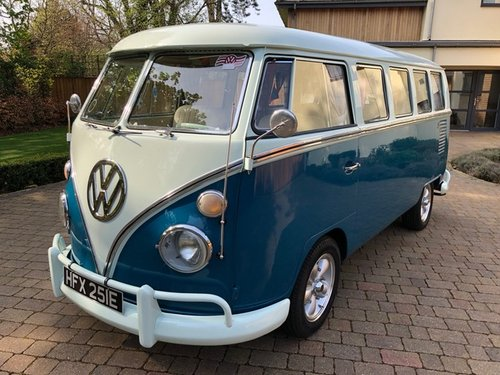 VW Deluxe Split Screen LHD 1967 - Great Condition SOLD (picture 2 of 6)