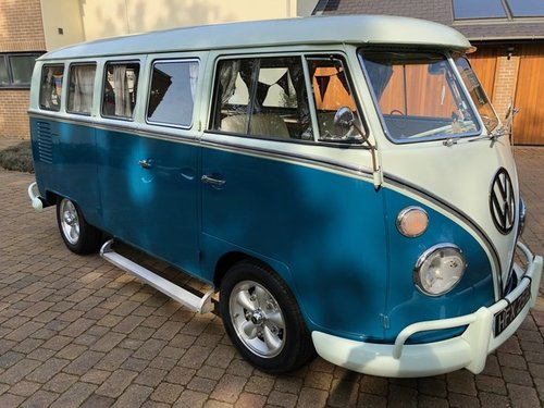 VW Deluxe Split Screen LHD 1967 - Great Condition SOLD (picture 3 of 6)