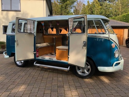 VW Deluxe Split Screen LHD 1967 - Great Condition SOLD (picture 4 of 6)