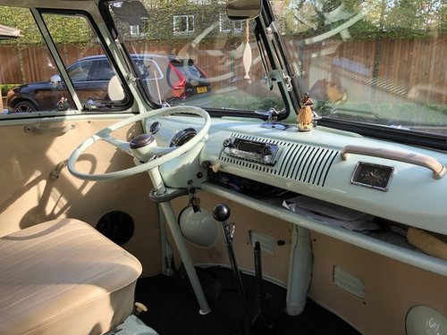 VW Deluxe Split Screen LHD 1967 - Great Condition SOLD (picture 6 of 6)
