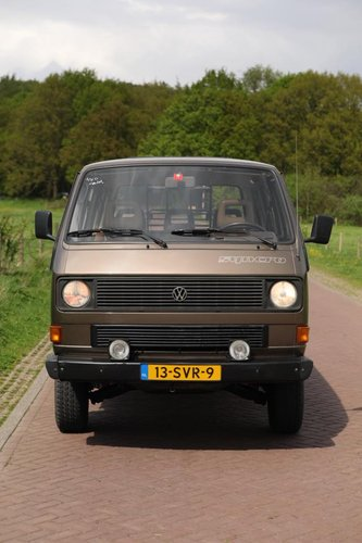 1986 Volkswagen T3 Syncro, T25 Cyncro For Sale (picture 5 of 6)