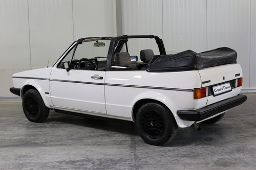 1982 VW Golf MK1 Cabriolet 1.5L 70ps in top original condition SOLD (picture 1 of 6)