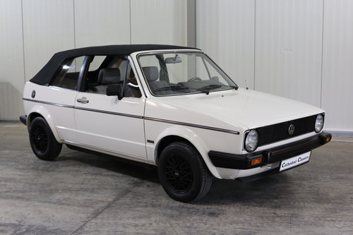 1982 VW Golf MK1 Cabriolet 1.5L 70ps in top original condition SOLD (picture 3 of 6)