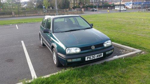 1996 VW Golf Mk3 1.8 SE Petrol 3 door, unmolested retro For Sale (picture 5 of 5)