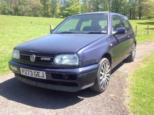 1996 Volkswagen Golf VR6 - Manual 2 Door  SOLD (picture 1 of 5)