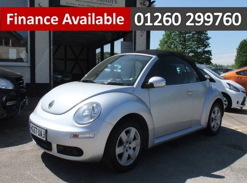 2007 VOLKSWAGEN BEETLE 1.6 LUNA 8V 2DR SOLD (picture 1 of 6)