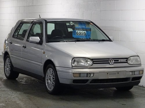 1998 Volkswagen Golf 2.8 VR6 5dr AUTO MK3 VR6 FRESH IMPORT For Sale (picture 1 of 6)