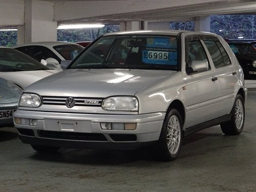 1998 Volkswagen Golf 2.8 VR6 5dr AUTO MK3 VR6 FRESH IMPORT For Sale (picture 4 of 6)