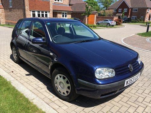 2000 Volkswagen Golf 1.6 SE SOLD (picture 1 of 5)