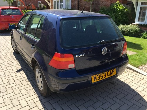 2000 Volkswagen Golf 1.6 SE SOLD (picture 2 of 5)