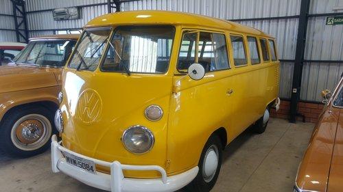 1975 VW T1 Split Window Brazilian Bus. NEVER RESTORED. For Sale (picture 1 of 6)