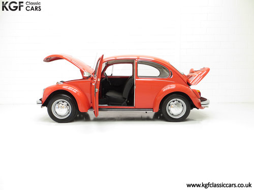1972 An Amazing Volkswagen Beetle 1300 with Only 52,990 Miles SOLD (picture 3 of 6)