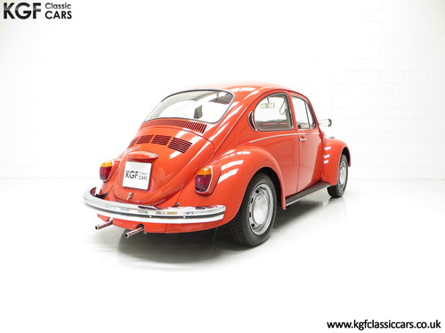 1972 An Amazing Volkswagen Beetle 1300 with Only 52,990 Miles SOLD (picture 5 of 6)