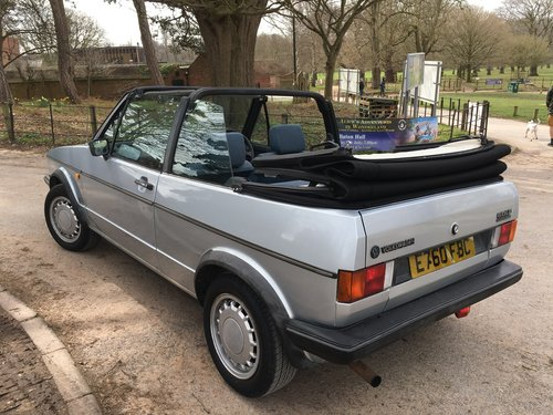 1987 Golf Clipper Cabriolet in mint condition For Sale (picture 3 of 6)