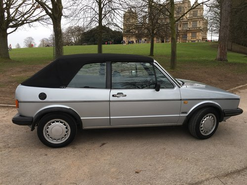 1987 Golf Clipper Cabriolet in mint condition For Sale (picture 4 of 6)