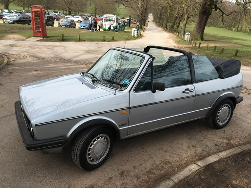 1987 Golf Clipper Cabriolet in mint condition For Sale (picture 5 of 6)