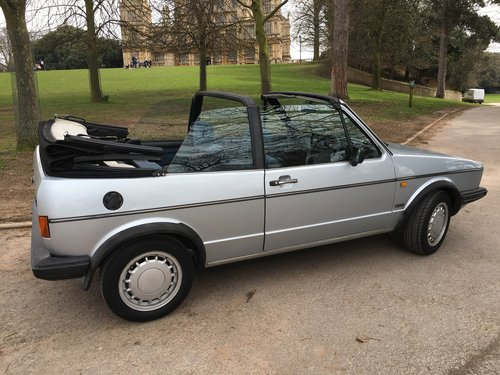 1987 Golf Clipper Cabriolet in mint condition For Sale (picture 6 of 6)