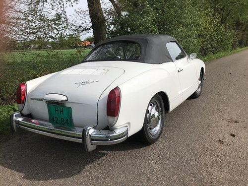 vw karmann ghia convertible 1973 with new engine 150 hp For Sale (picture 2 of 6)