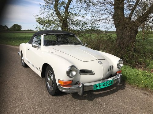 vw karmann ghia convertible 1973 with new engine 150 hp For Sale (picture 3 of 6)