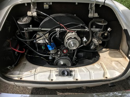 vw karmann ghia convertible 1973 with new engine 150 hp For Sale (picture 5 of 6)