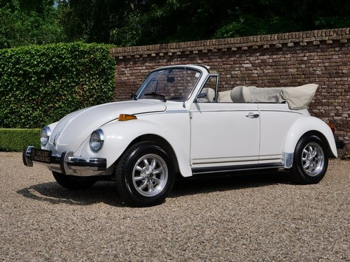 1978 Volkswagen Beetle 1600 Convertible only 12.000 miles! For Sale (picture 1 of 6)