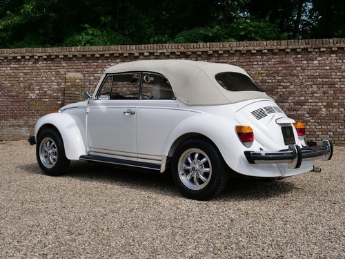 1978 Volkswagen Beetle 1600 Convertible only 12.000 miles! For Sale (picture 2 of 6)