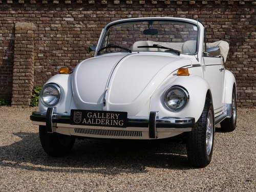 1978 Volkswagen Beetle 1600 Convertible only 12.000 miles! For Sale (picture 5 of 6)