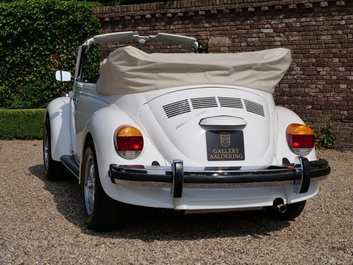 1978 Volkswagen Beetle 1600 Convertible only 12.000 miles! For Sale (picture 6 of 6)