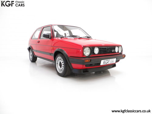 1989 A Multiple Concours Winning VW Golf GTi 8v 3dr SOLD (picture 1 of 6)