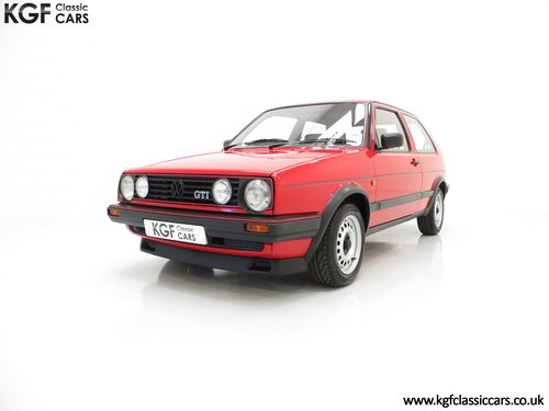 1989 A Multiple Concours Winning VW Golf GTi 8v 3dr SOLD (picture 2 of 6)