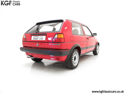 1989 A Multiple Concours Winning VW Golf GTi 8v 3dr SOLD (picture 5 of 6)