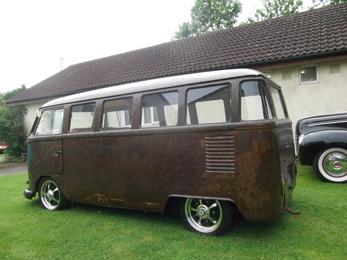 1963 Volkswagen T1 Split Screen 9 Seater Micro Bus,Patina, Ratty SOLD (picture 2 of 6)