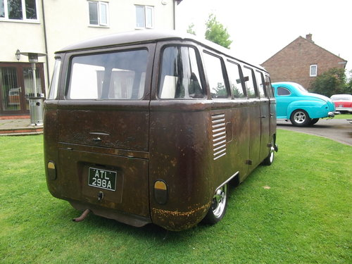 1963 Volkswagen T1 Split Screen 9 Seater Micro Bus,Patina, Ratty SOLD (picture 4 of 6)