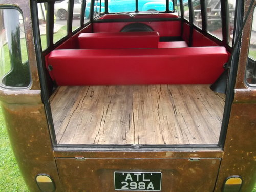1963 Volkswagen T1 Split Screen 9 Seater Micro Bus,Patina, Ratty SOLD (picture 5 of 6)