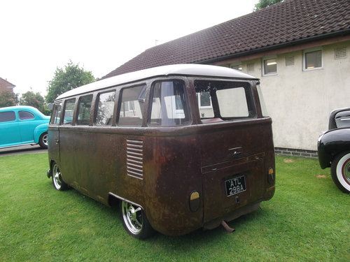 1963 Volkswagen T1 Split Screen 9 Seater Micro Bus,Patina, Ratty SOLD (picture 6 of 6)