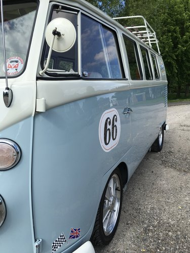 1966 VW Split Screen Camper  Subaru Engine Gulf Racing SOLD (picture 3 of 3)