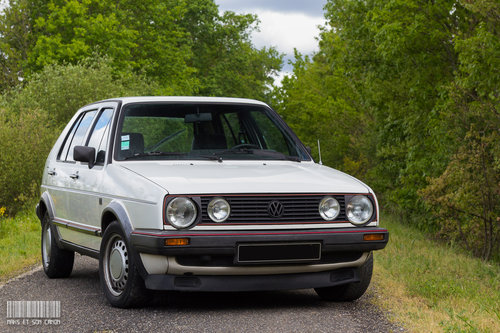 VOLKSWAGEN GOLF GTI 1986 SOLD by Auction (picture 1 of 5)
