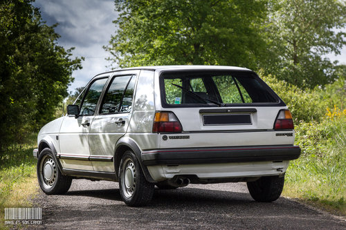 VOLKSWAGEN GOLF GTI 1986 SOLD by Auction (picture 2 of 5)