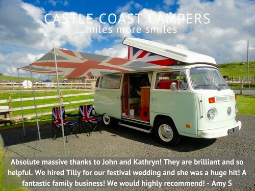 1973 Castle Coast Campers   Classic VW Campervan For Hire (picture 3 of 6)