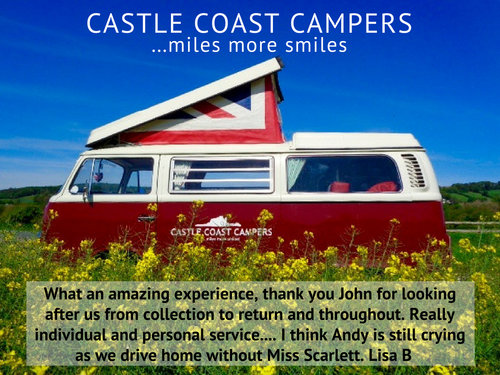 1973 Castle Coast Campers   Classic VW Campervan For Hire (picture 5 of 6)