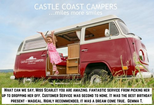 1973 Castle Coast Campers   Classic VW Campervan For Hire (picture 6 of 6)