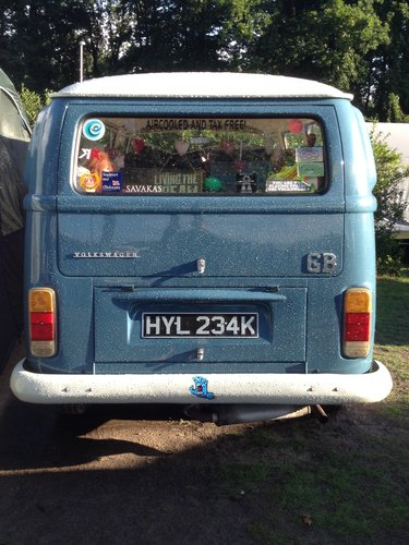 1971 Classic RHD Bay Window walk through Campervan For Sale (picture 2 of 4)