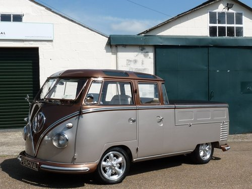 1960 VW Splitscreen Crew Cab, Custom, show truck For Sale (picture 1 of 6)