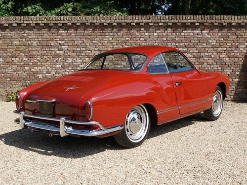 1966 Volkswagen Karmann Ghia Coupe 1300 For Sale (picture 2 of 6)