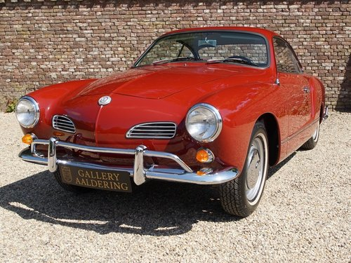 1966 Volkswagen Karmann Ghia Coupe 1300 For Sale (picture 5 of 6)