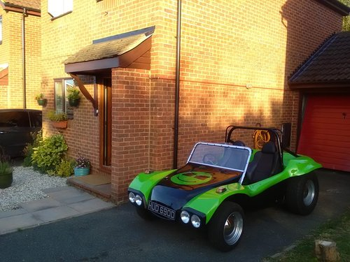 1966 1971 classic rare beach buggy swb r.a.t body SOLD (picture 2 of 4)