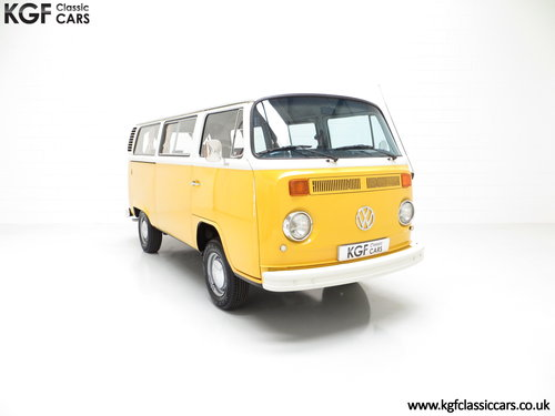 1976 RHD Volkswagen 2000L Type 2 Kombi Microbus with 45,776 miles SOLD (picture 1 of 6)