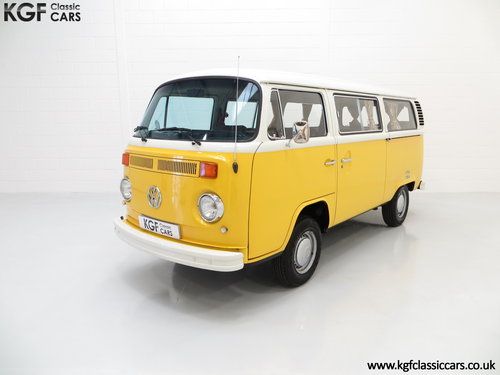 1976 RHD Volkswagen 2000L Type 2 Kombi Microbus with 45,776 miles SOLD (picture 2 of 6)